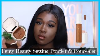 NEW FENTY BEAUTY BY RIHANNA PRO FILT'R INSTANT RETOUCH SETTING POWDER & CONCEALER