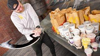50,000 Calorie McDonalds Menu Destruction!