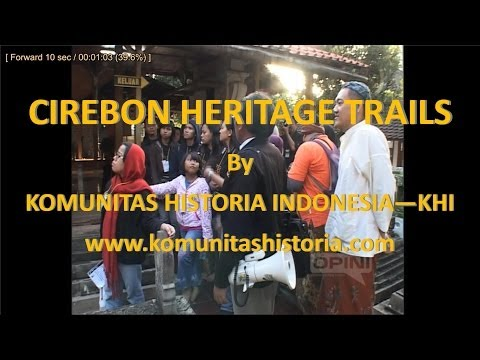KHI menggelar Cirebon Heritage Trails