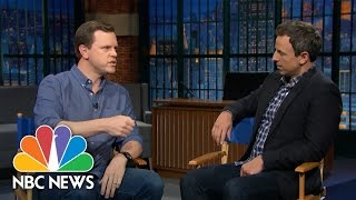 Seth Myers And Willie Geist Talk Millennials And Voting | NBC News