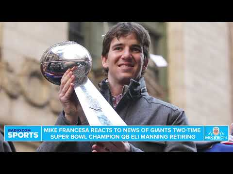 Giants' Eli Manning Retiring with Complicated Legacy | Mike's On (1/22/20)