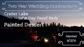 ILLUMINA FAMILY TRAVELS (SPECIAL EDITION): TWO YEAR WEDDING ANNIVERSARY | CRATER LAKE