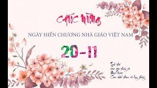 CHÚC MỪNG NGÀY NHÀ GIÁO VIỆT NAM 20/11 |Tuổi Trẻ Hương Hóa|