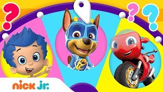 Adventures w/ PAW Patrol, Dora, Blue & Ricky Zoom! 🙃 Spin the Wheel of Friends | Ep. 1 | Nick Jr.