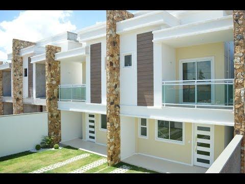 Modelos de fachadas de casas for Casa moderna minimalista 6 00 m x 12 50 m 220 m2