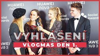 A Cup of Style - VLOGMAS Den 1.   Vyhlášení Czech Social Awards! - Zdroj: