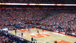 Syracuse's John Gillion hits buzzer beater to beat duke