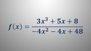Poli racionalne funkcije 5
