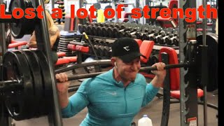 First Leg Workout in 2 months! | Alfstaal