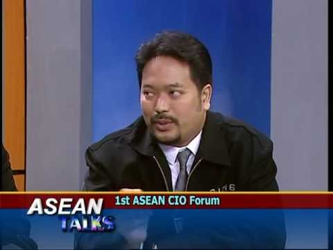 1st ASEAN CIO FORUM 2012 on ASEAN Talks part1