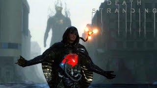Death Stranding - Boss Fight Higgs (Giant BT Monster)