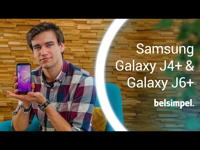 Belsimpel-productvideo voor de Samsung Galaxy J6+ J610 Duos Red