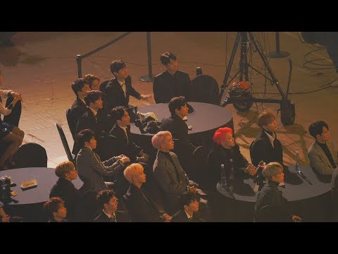 슈퍼주니어 (Super Junior) 'Black Suit' [EXO(엑소),세븐틴(Seventeen),JBJ Reaction ]@171115 AAA[4k Fancam/직캠]