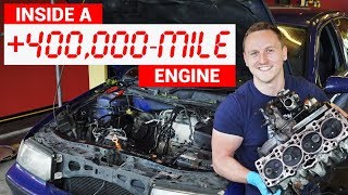 Here's What An Engine With 432,000 Miles Looks Like Inside