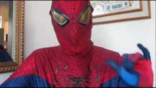The Amazing Spiderman Deluxe Halloween Costume review