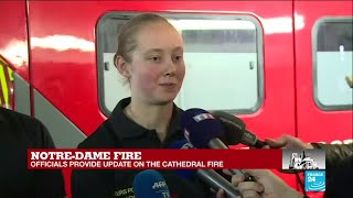 Notre-Dame blaze: Did the firefighters ever feel like they would not be able to contain the fire?
