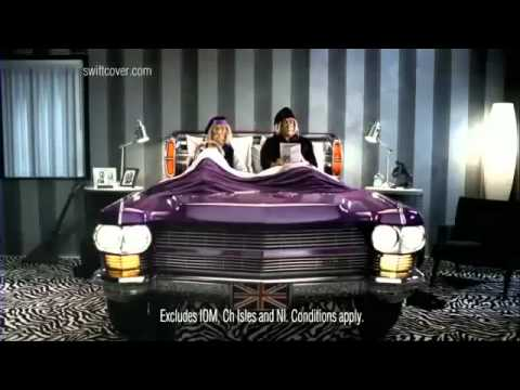 Swiftcover Car Insurance Ad 2011 - Bed (10 Sec)