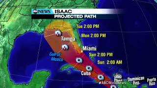 Isaac: Tracking the Storm