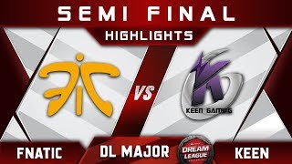 Fnatic vs Keen Semi Final Stockholm Major DreamLeague Highlights 2019 Dota 2