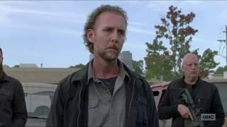 Morgan Matando Richard (Morgan Kills Richard) - The Walking Dead 7x13