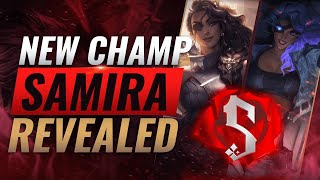 NEW CHAMPION SAMIRA: ALL ABILITIES REVEALED - League of Legends