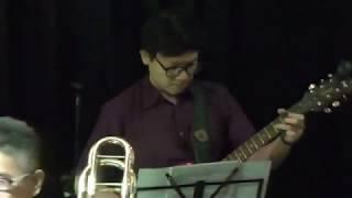 Cantaloupe Island - Herbie Hancock ( Rizky Prasetio Guitar Solo w/ HajarBleh Big Band )