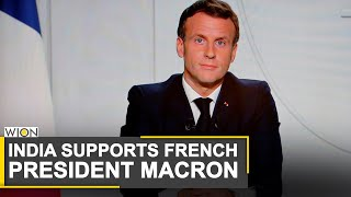 India sides with Emmanuel Macron, condemns Erdogan's remarks | World News | WION News