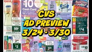 CVS AD PREVIEW 3/24 - 3/30 |. MONEYMAKER TOOTHPASTE, CHEAP HAIR CARE & CASH CARD!