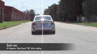 DeMobBoss's Pulse Racing tuned Subaru Liberty STI H6 biturbo straight run