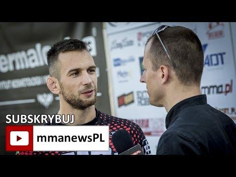 FEN 18: Kamil Łebkowski o przyjemnościach, które czekają na niego po walce w Koszalinie