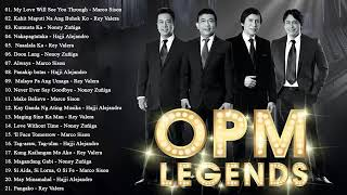Rey Valera, Marco Sison, Nonoy Zuñiga, Hajji Alejandro Greatest Hits : OPM Love Songs Of All Time