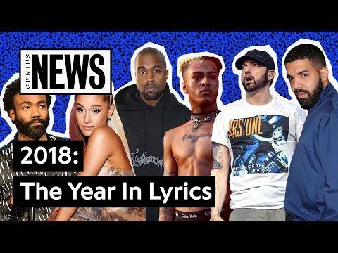 The Most Popular Lyrics Of 2018   Genius News