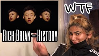 """Rich Brian """"History"""" (Official Music Video) Reaction"""