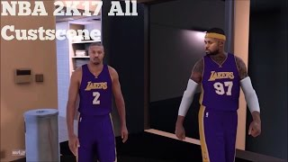 NBA 2K17 My Career All Cutscene