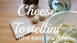 Cheese Tortellini (the easy way)