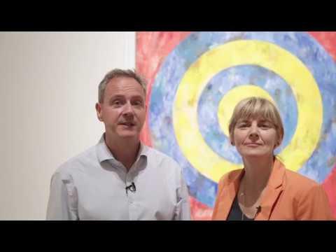 Jasper Johns at The Royal Academy
