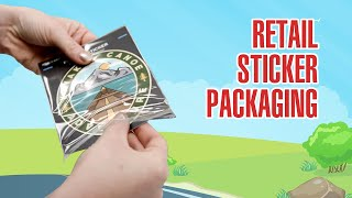 Retail Packaging For Stickers