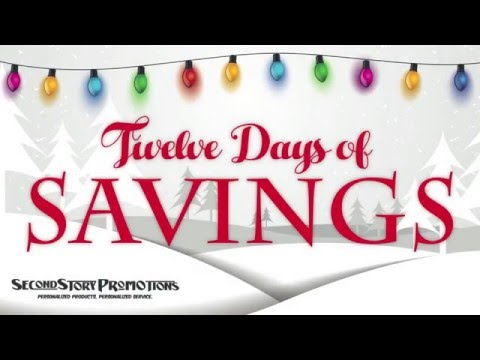 12 Days of Savings with Second Story Promotions