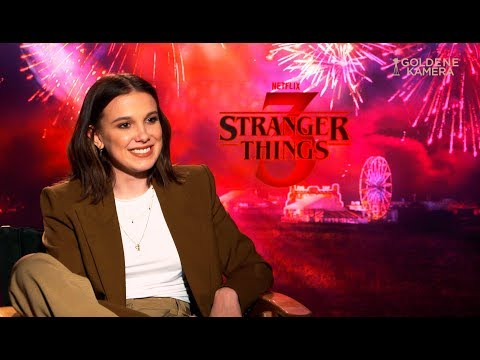 """Stranger Things""-Staffel 3: Millie Bobby Brown im Interview"