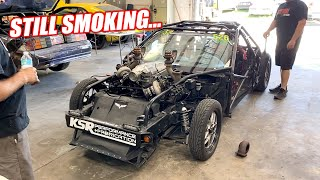 Leroy is FINALLY Getting Bigger Turbos!!! But His Engine is Smoking BADLY, Even Without Turbos...