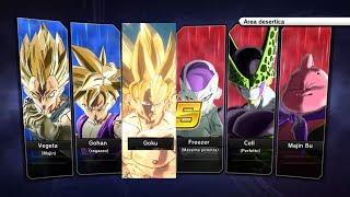 Xenoverse 2 - Requested match: Goku/Kid Gohan/Majin Vegeta SSJ vs Freezer 100%/Cell Perfetto/Bu