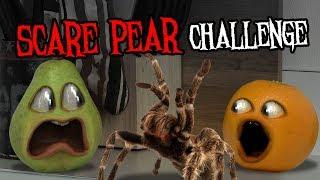Annoying Orange - The Scare Pear Challenge #Shocktober