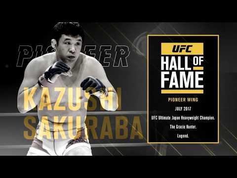 Kazushi Sakuraba w Hali Sław UFC