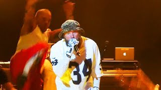 Fred Durst attacked by Shaggy 2 Dope