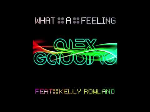 Alex Gaudino Feat. Kelly Rowland - What A Feeling (Radio Edit) COVERART