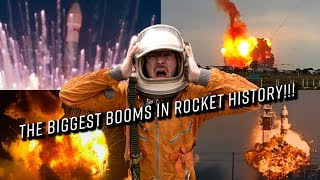 The Biggest BOOMS in Rocket History (4K)