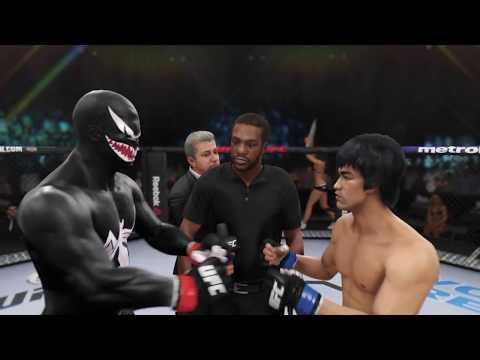 Venom vs. Bruce Lee (EA sports UFC 3) - CPU vs. CPU