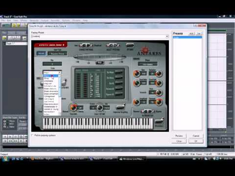 YouTube - How to Get Auto Tune 4 Into Cool Edit Pro 2.0 (T-Pain settings also) (FREE AUTOTUNE).flv
