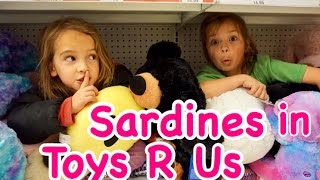 ULTIMATE FAMILY SARDINES IN TOYS R US
