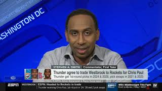 All the NBA astounded with the crazy transfer: Russell Westbrook-Chris Paul trade | ESPN SC